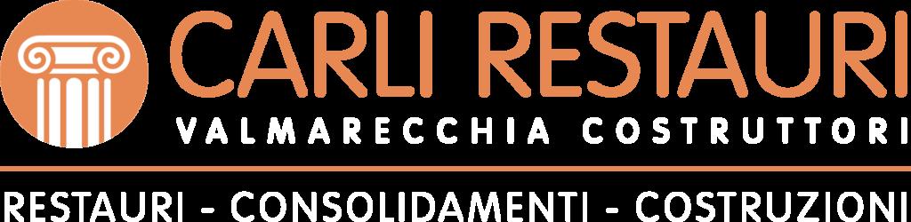 logo Carli Restauri bianco